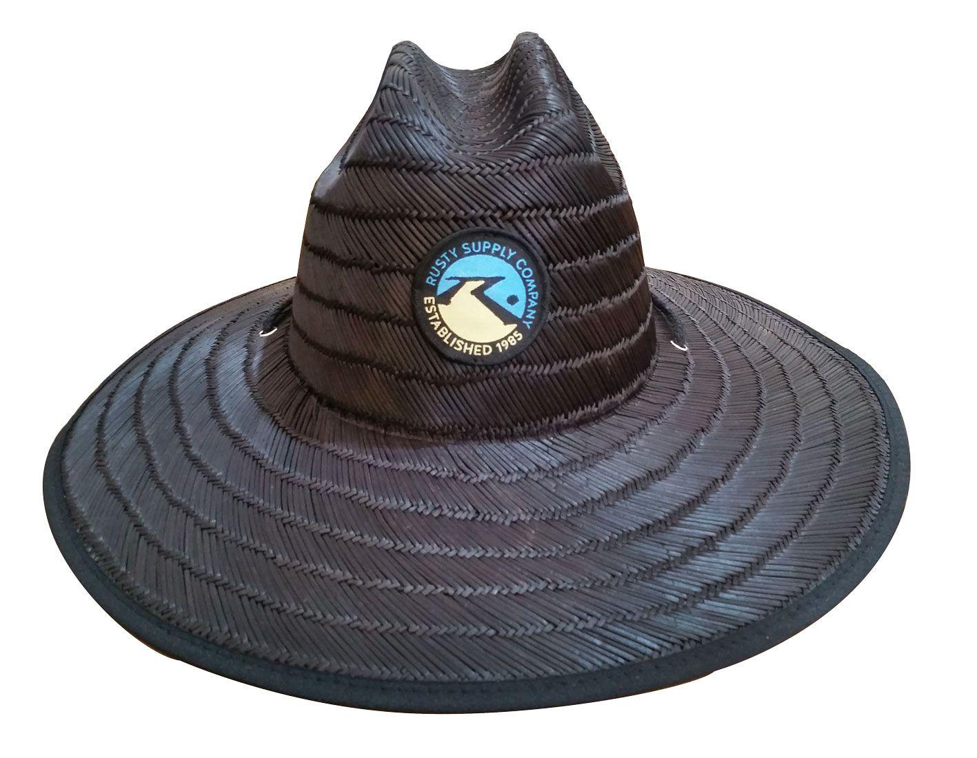 Chapéu de Palha Rusty Black