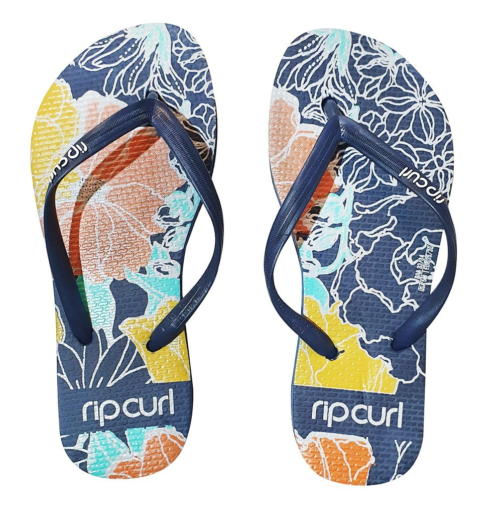 Chinelo Feminino Rip Curl Golden Flowers