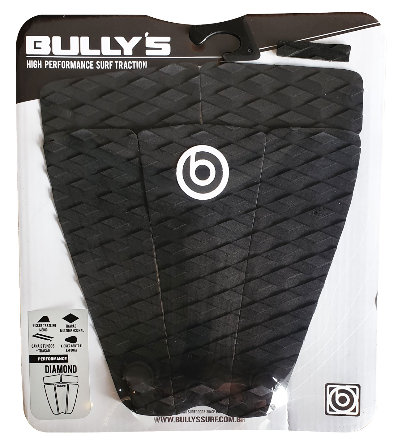 Deck Bully's  Traction  Diamond