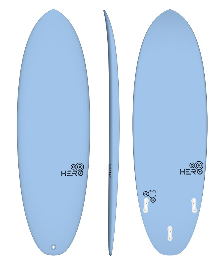 Hero 5'6'' Surfácil Azul