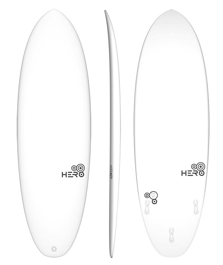 Hero 5'6'' Surfácil Branco
