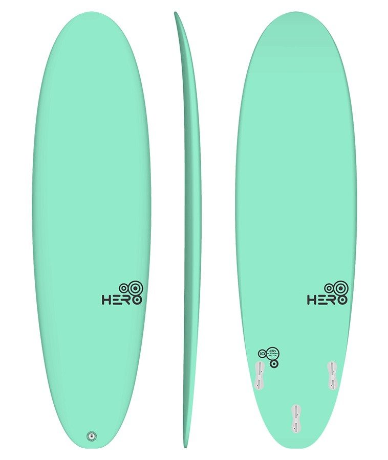 Hero 6'6'' Surfácil Verde