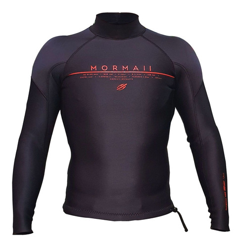 Jaqueta Neoprene Mormaii Flexxxa Pro Uv Suit 1mm