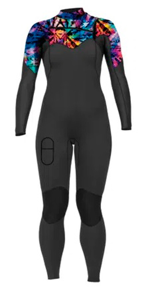 Long John Mormaii Diva Pro 3.2mm Chestzip