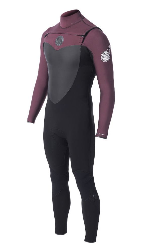 Long John Rip Curl FlashBomb 3.2mm Chest Zip