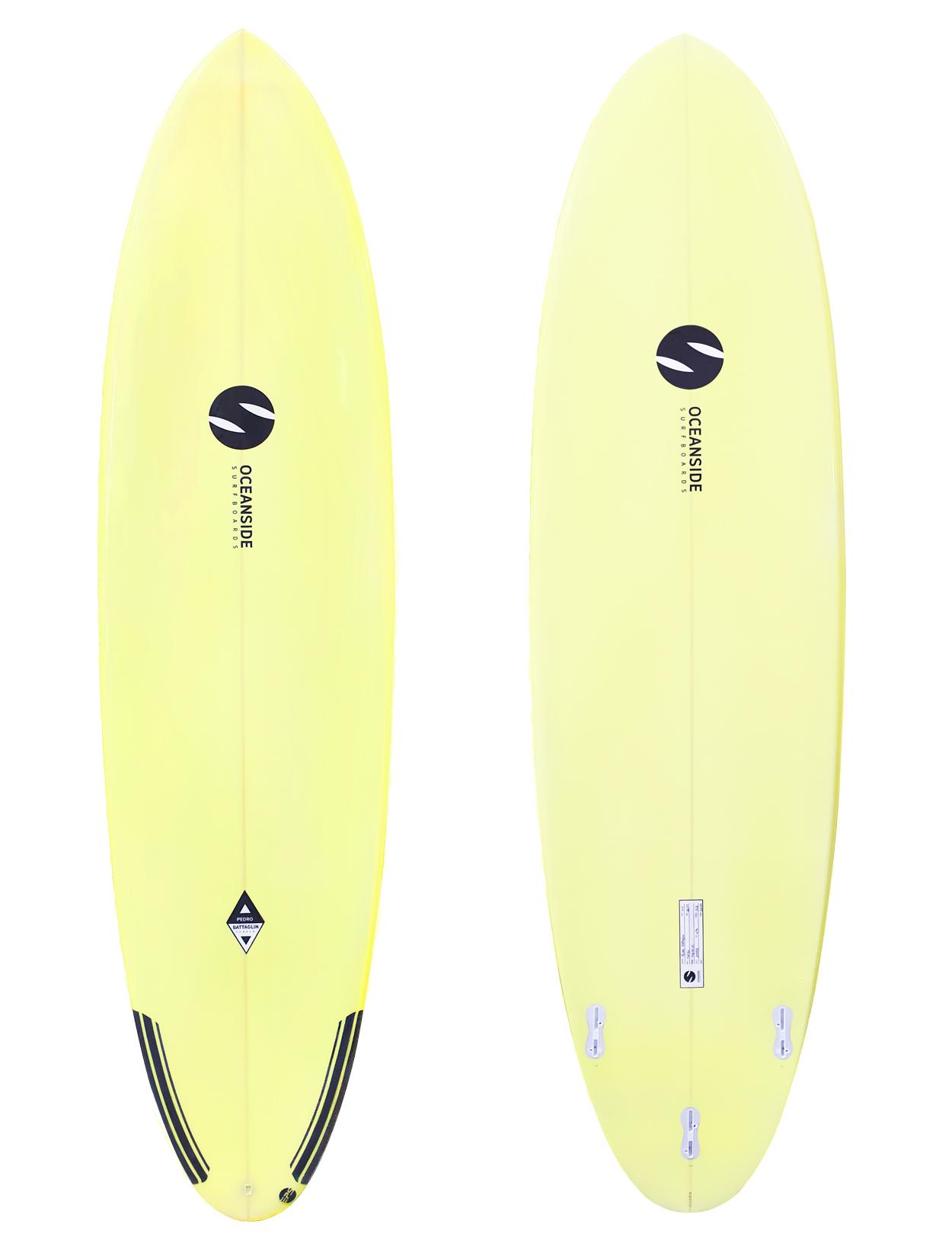 Oceanside 7'4'' Malibu 60L