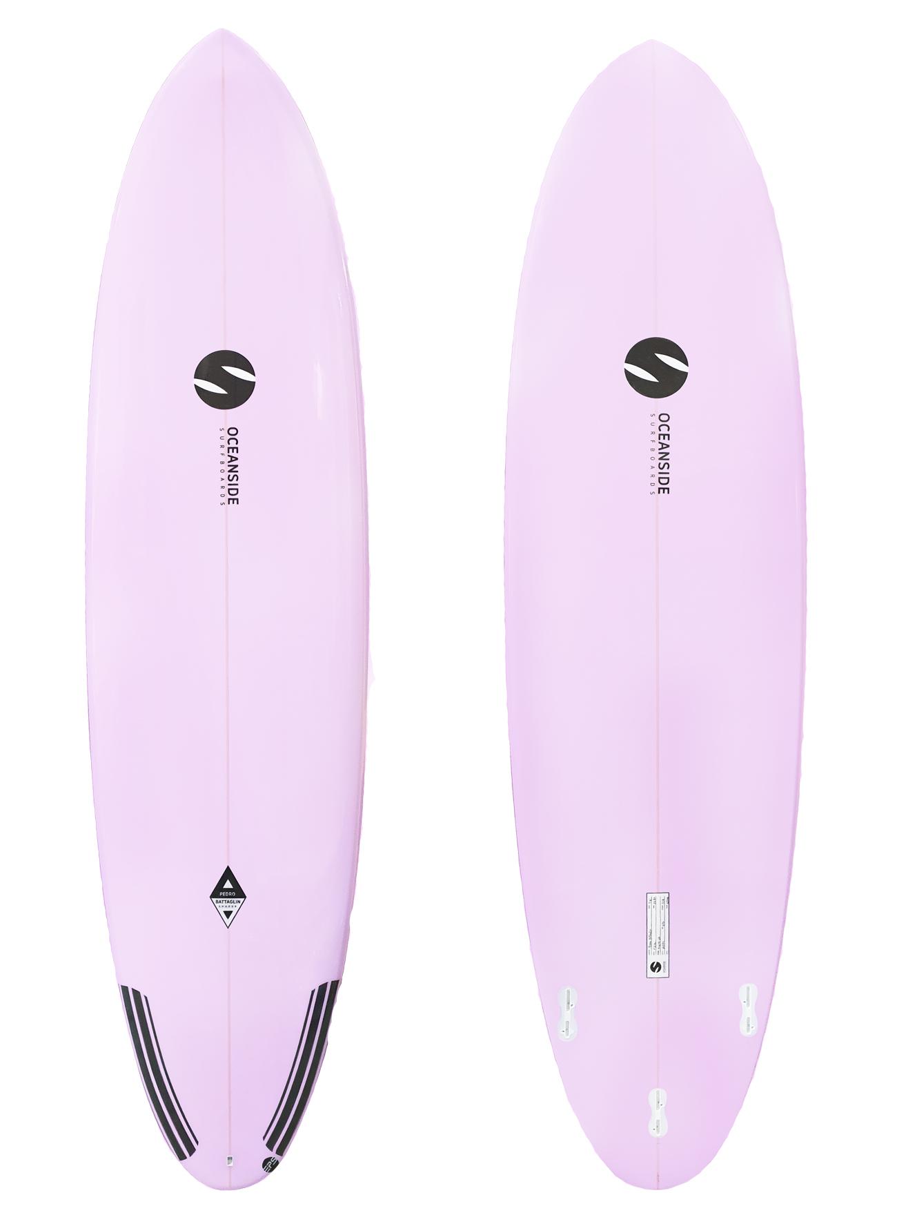 Oceanside 7'6'' Malibu 63L