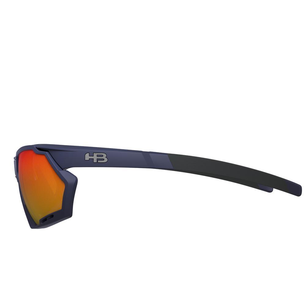 Óculos de Grau HB Rush Clip On Matte Navy/Multi Red