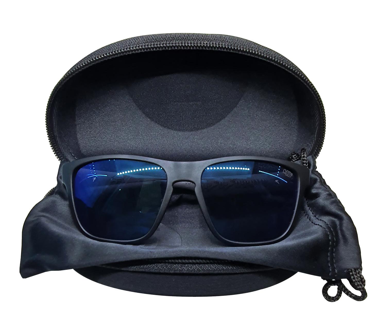 Óculos HB H-Bomb Matte Black Blue Chrome