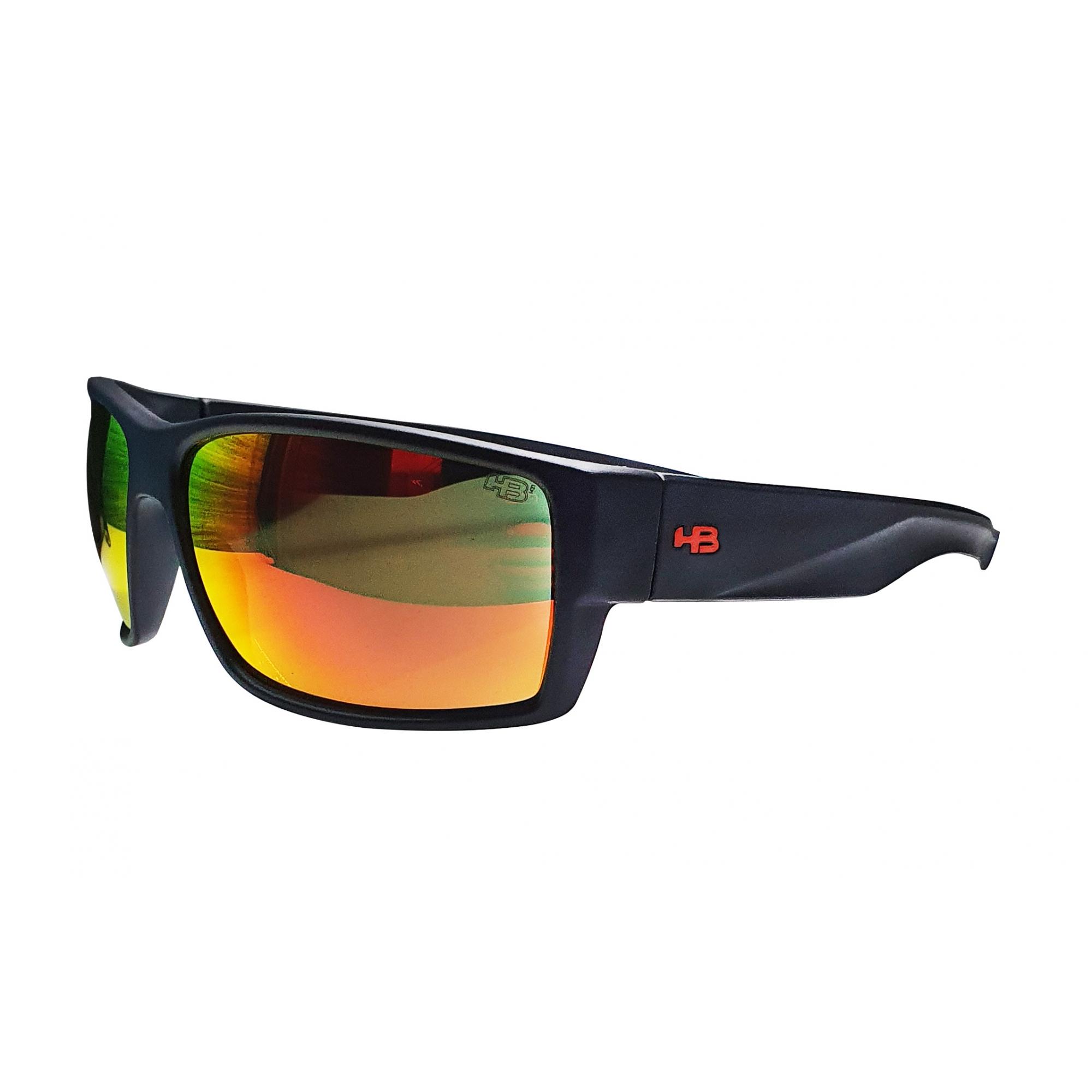 Óculos HB Narrabeen Matte Black/Red Chrome