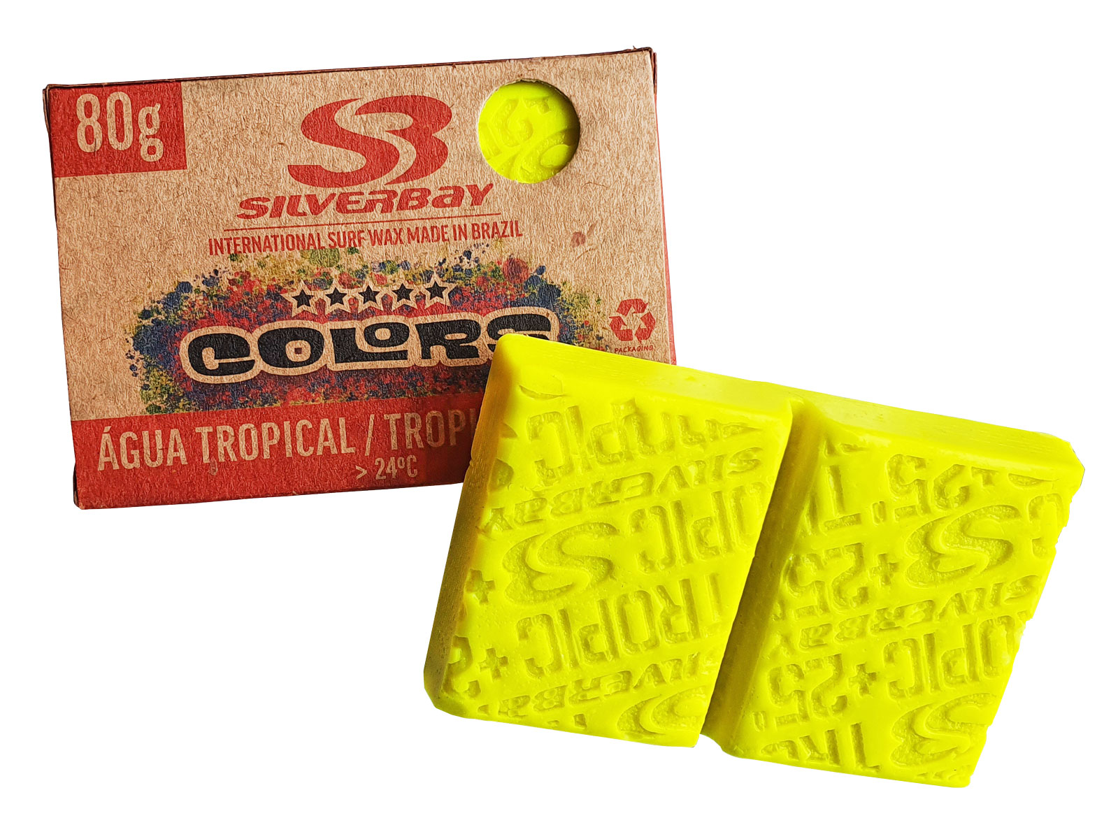 Parafina Silverbay Colors Tropical 80g