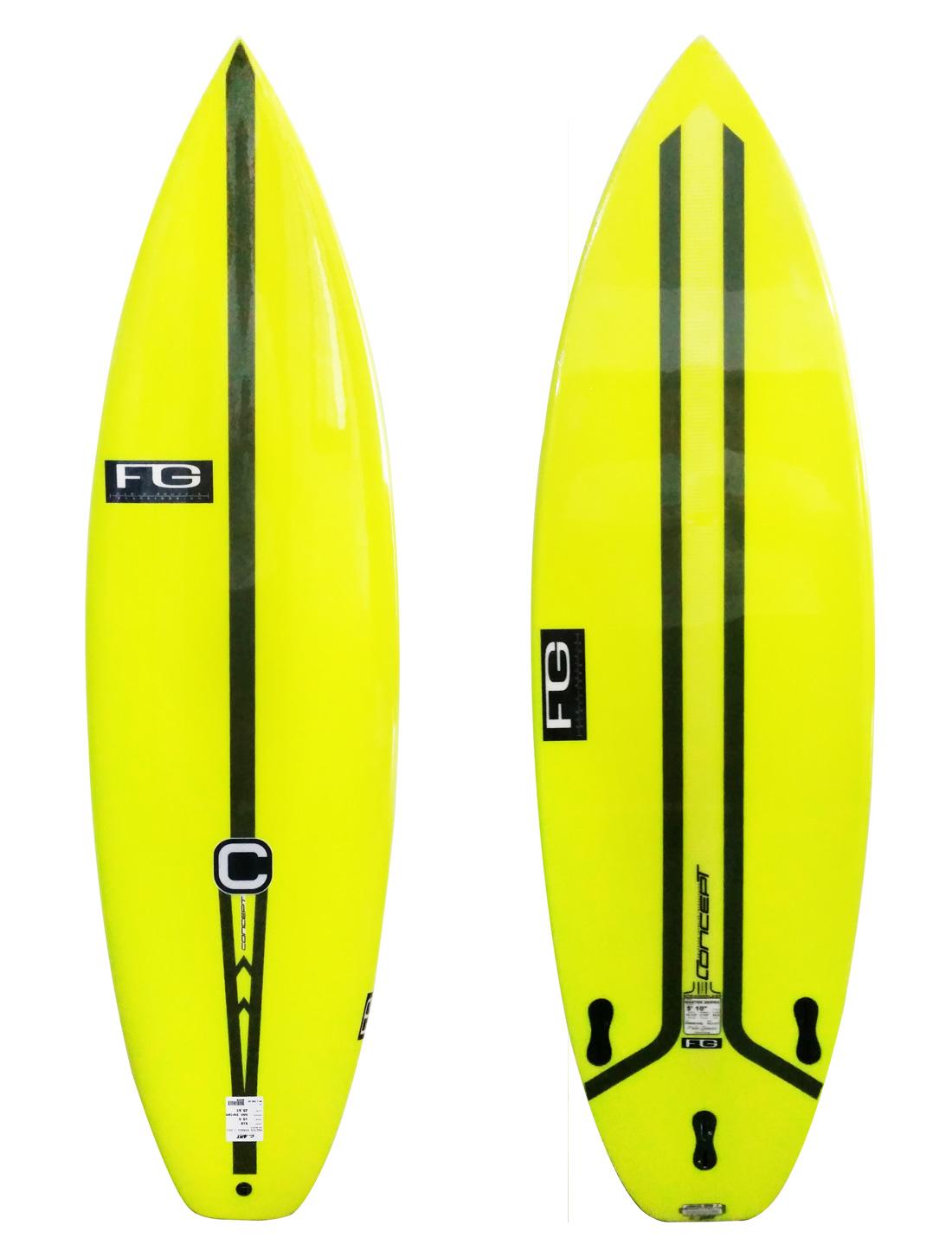 Prancha De Surf Concept 5'10'' Fg Master Series