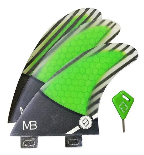 Quilha Carbono Shapers Fins Matt Banting Mb1