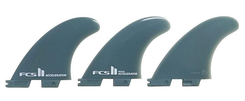 Quilha FCS II Accelerator Glass Flex - Média