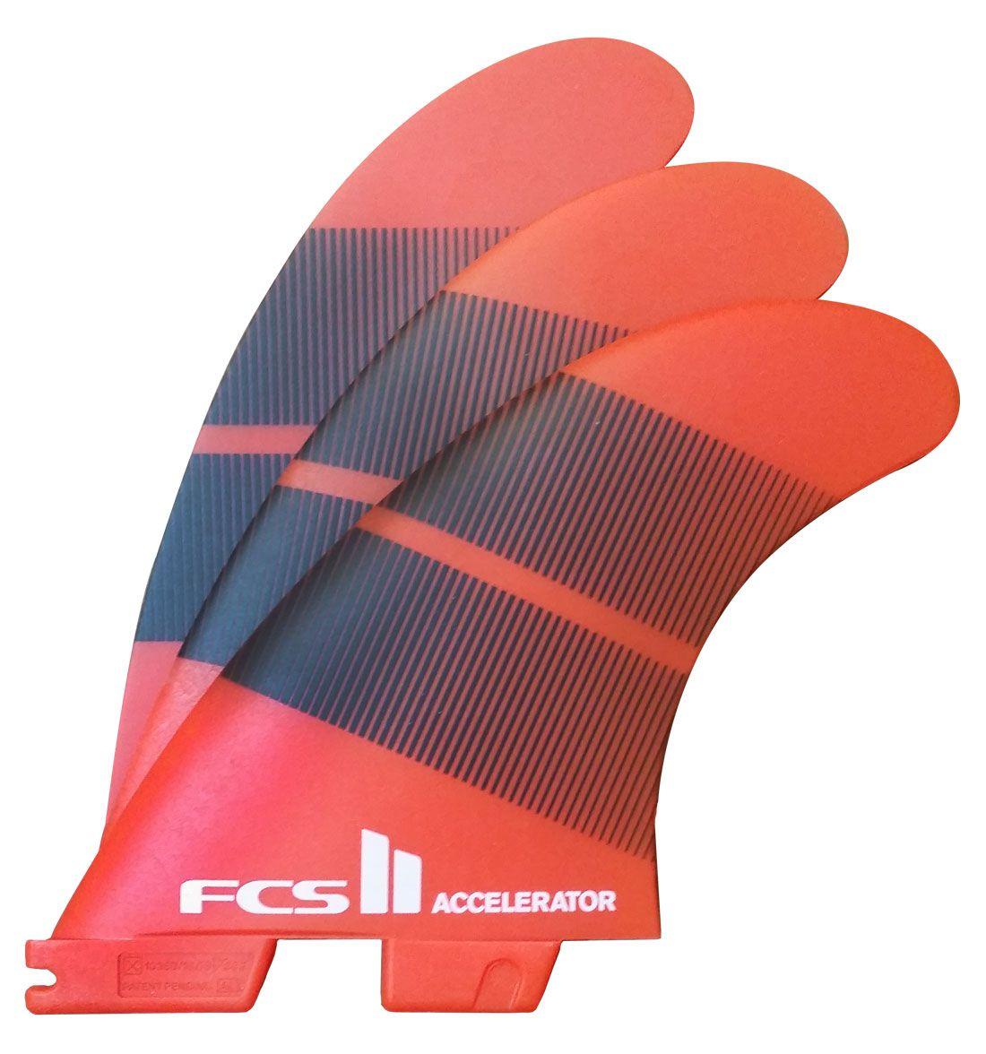 Quilha FCS II Accelerator Neo Glass - Medium