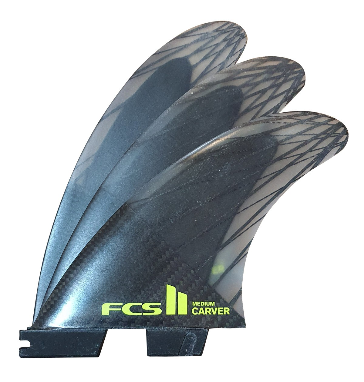 Quilha FCS II Carver Medium Performance Core Carbon