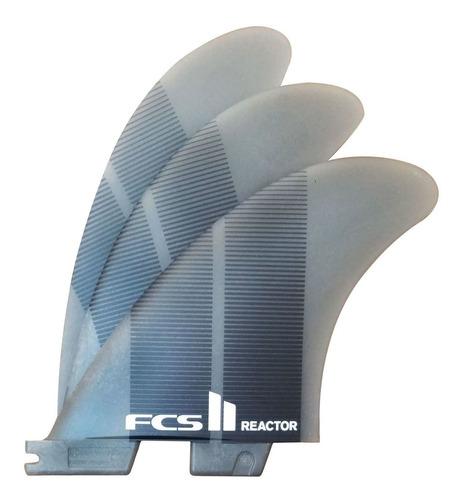 Quilha FCS II Reactor Neo Glass Medium