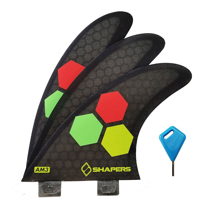Quilha Shapers Fins AM3 Core Lite Small