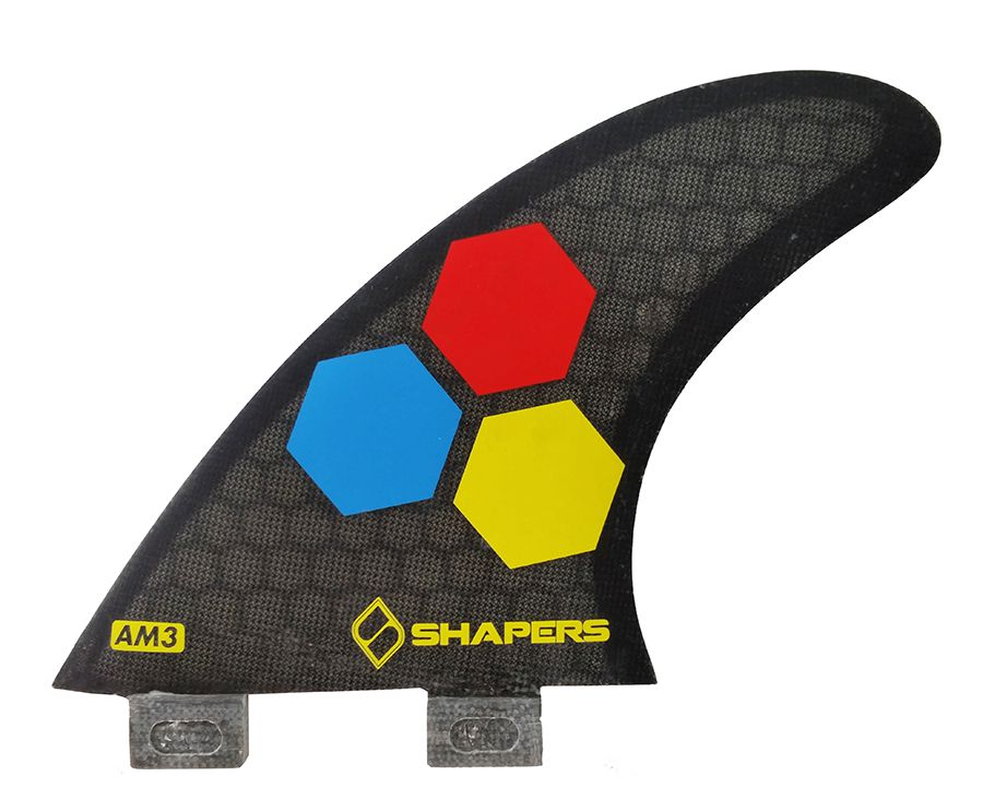 Quilha Shapers Fins AM3 Five Fins CoreLite Small
