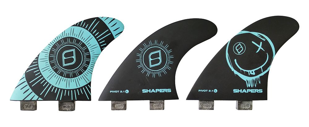 Quilha Shapers Fins Dual Core Lite Pivot 2.1 Large