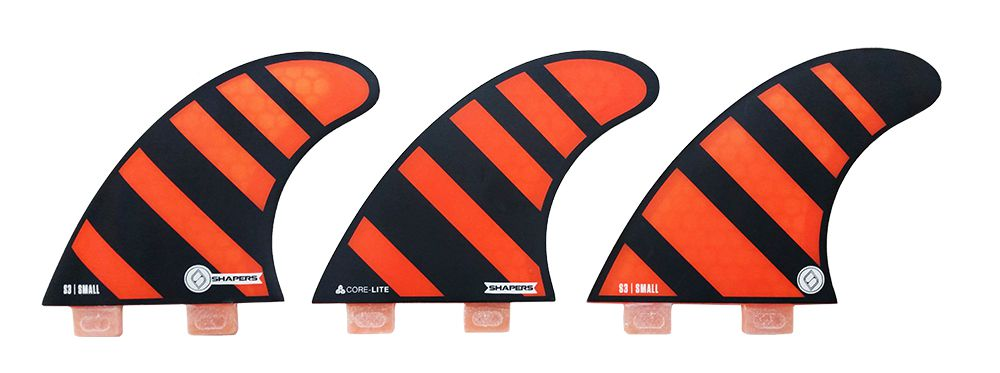 Quilha Shapers Fins Dual Core Lite S3 Small