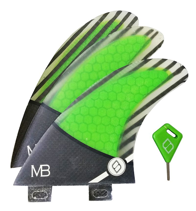 Quilha Shapers Fins MB1 Pro Carbon Hybrid Medium