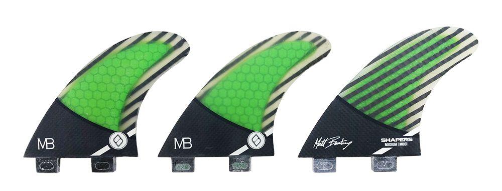 Quilha Shapers Fins MB1 Pro Carbon Hybrid Medium
