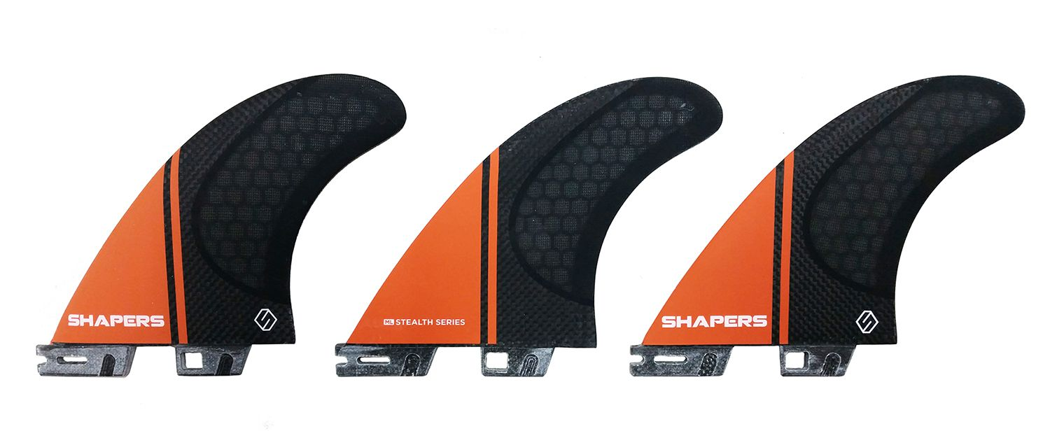 Quilha Shapers Fins Stealth Medium Large