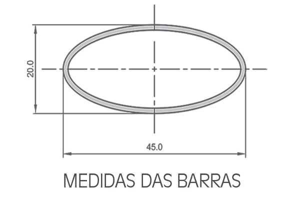 Rack Eqmax Alpha Aço Para Longarinas 6181 1,20m