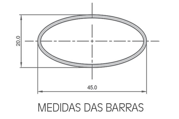 Rack Eqmax Alpha Aço Para Longarinas 6182 1,30m