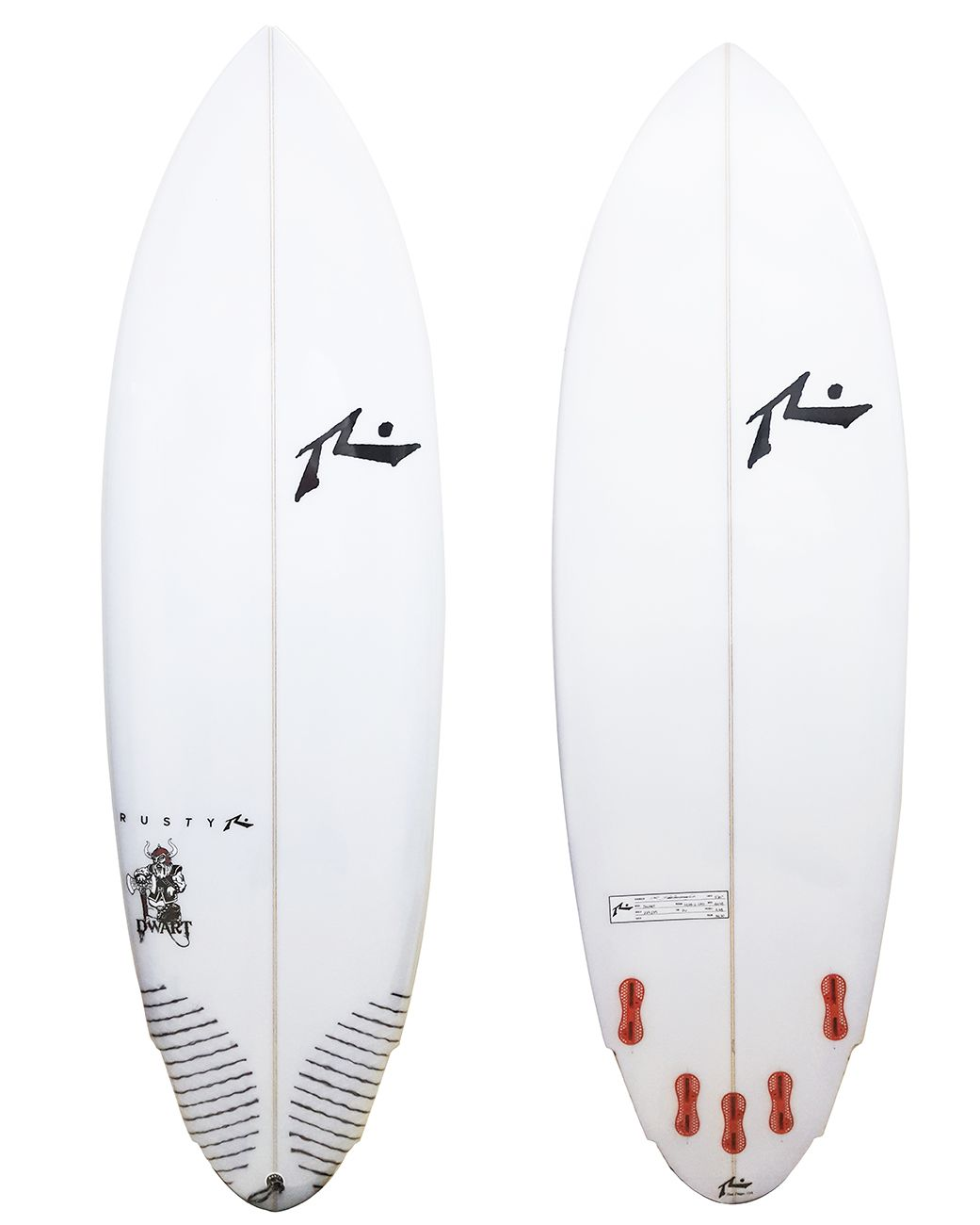 Rusty 5'10'' Dwart FCS II
