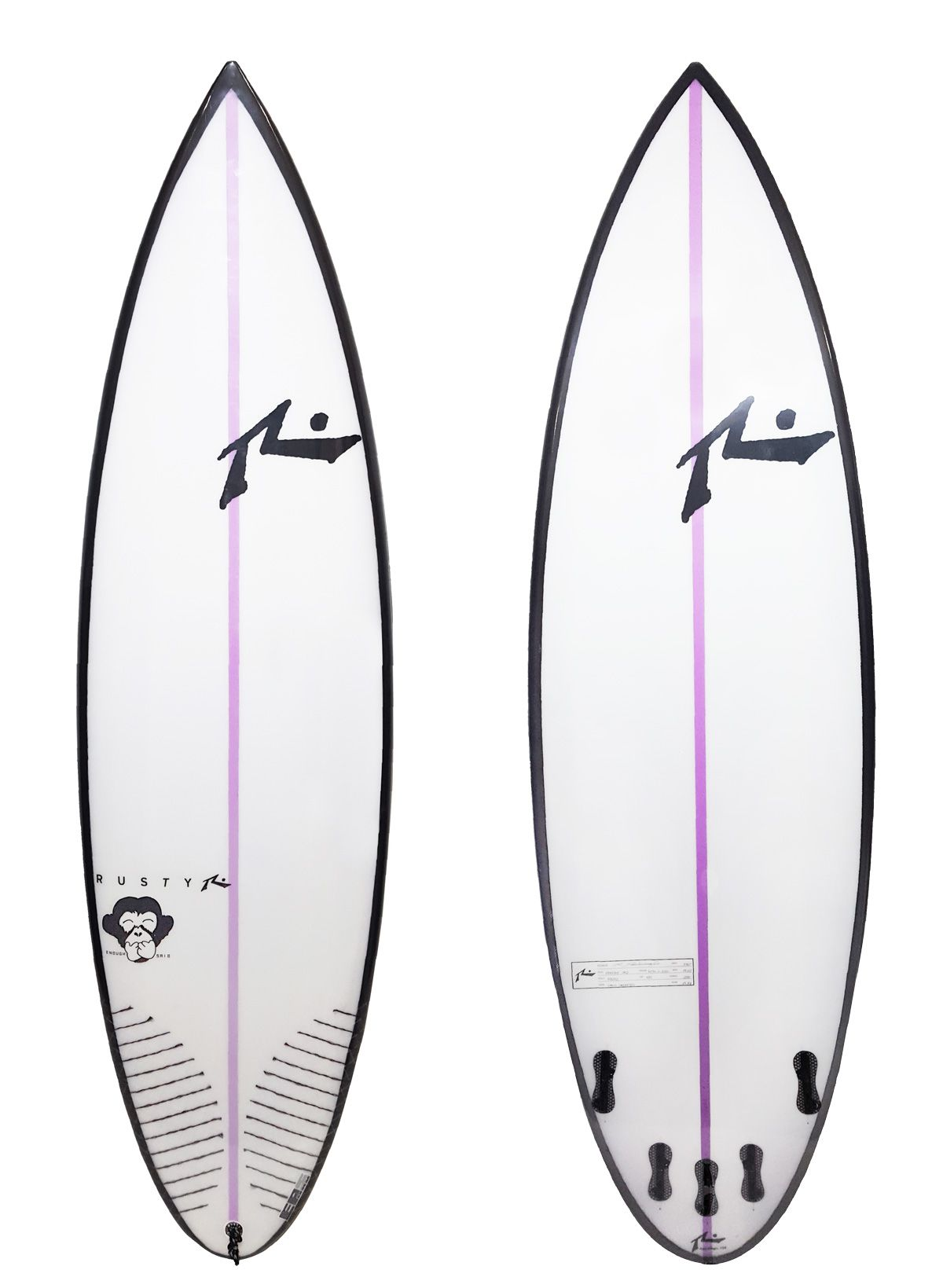 Rusty 5'10'' Enough Said FCS II