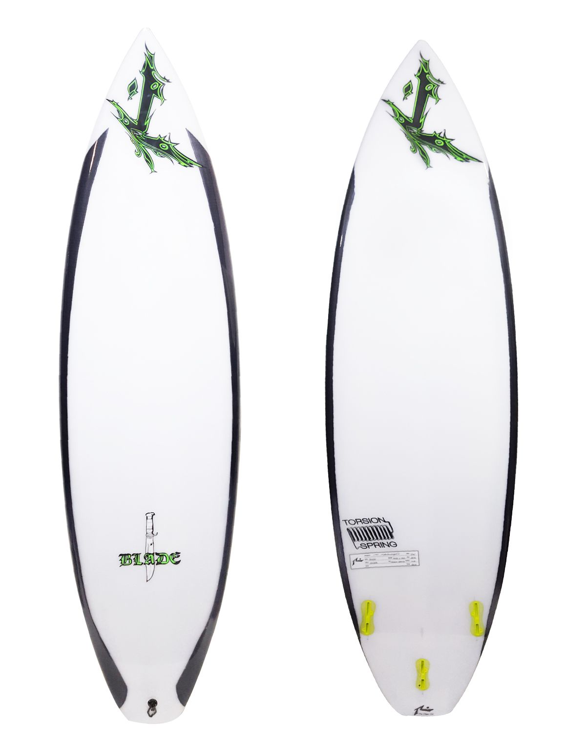 Rusty 5'10'' The Blade FCS II