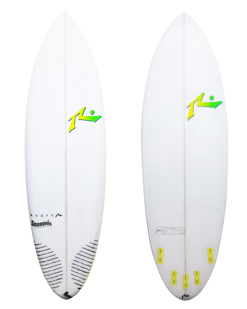 Rusty 6'0'' Smoothie FCS II