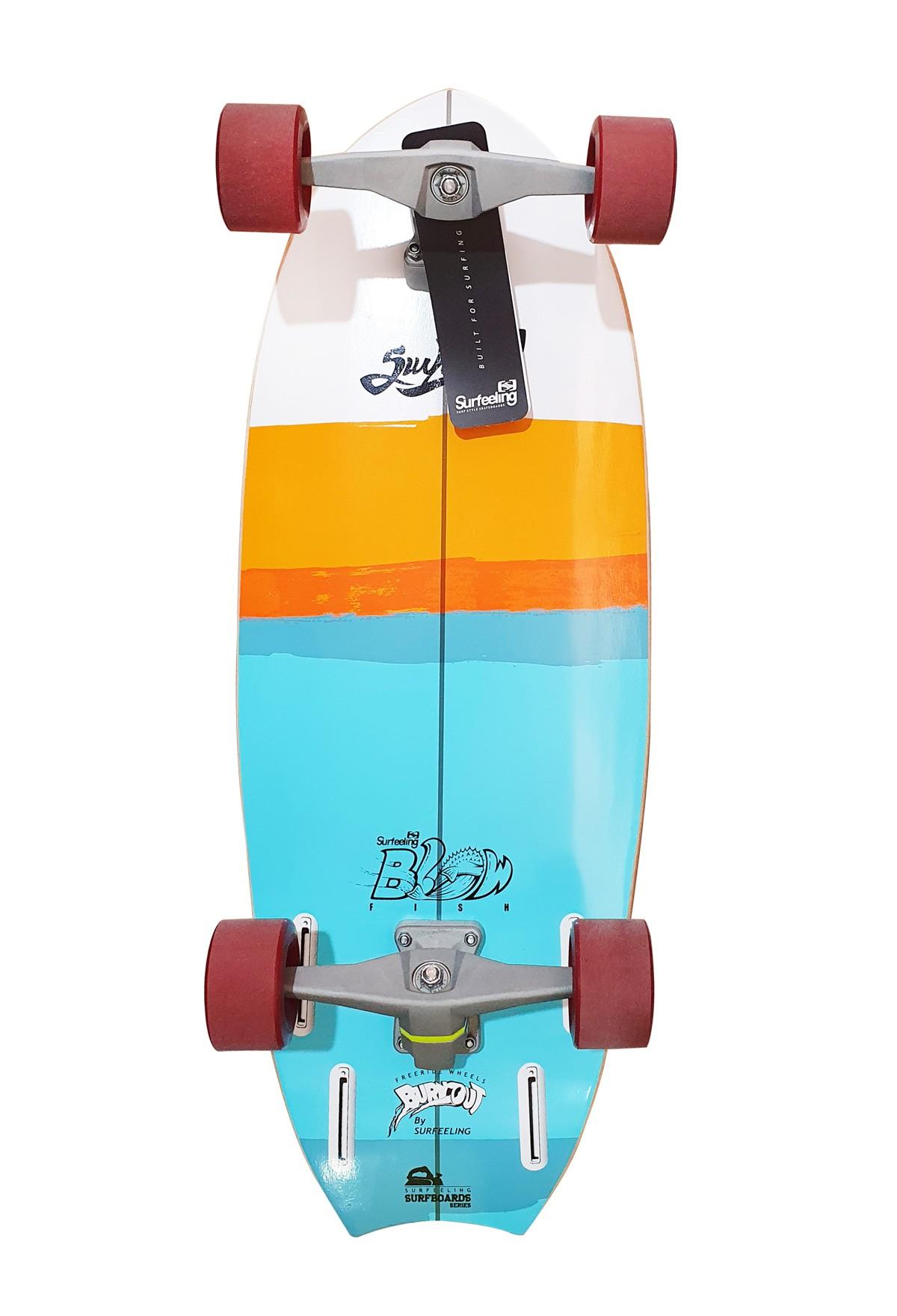 Simulador de Surf Skateboard Surfeeling BLOWFISH 1