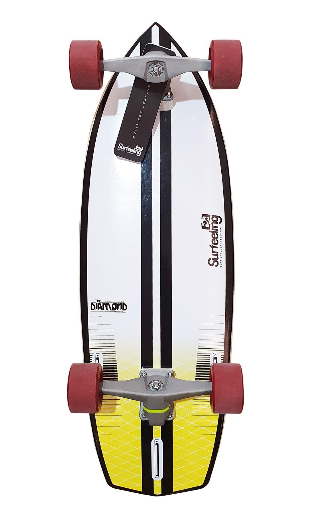 Simulador de Surf Skateboard Surfeeling Diamond