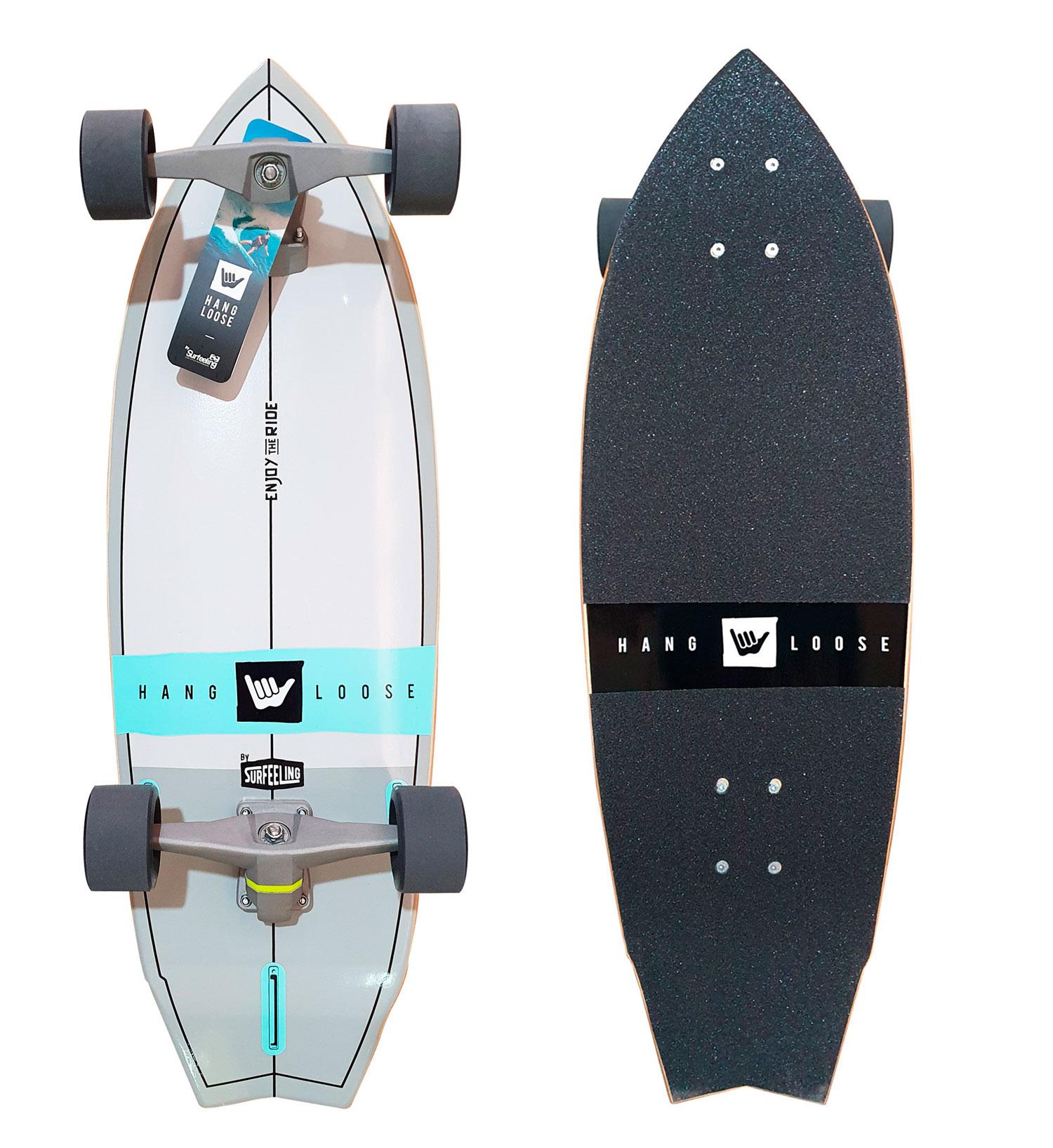 Simulador De Surf Skateboard Surfeeling Hang Loose