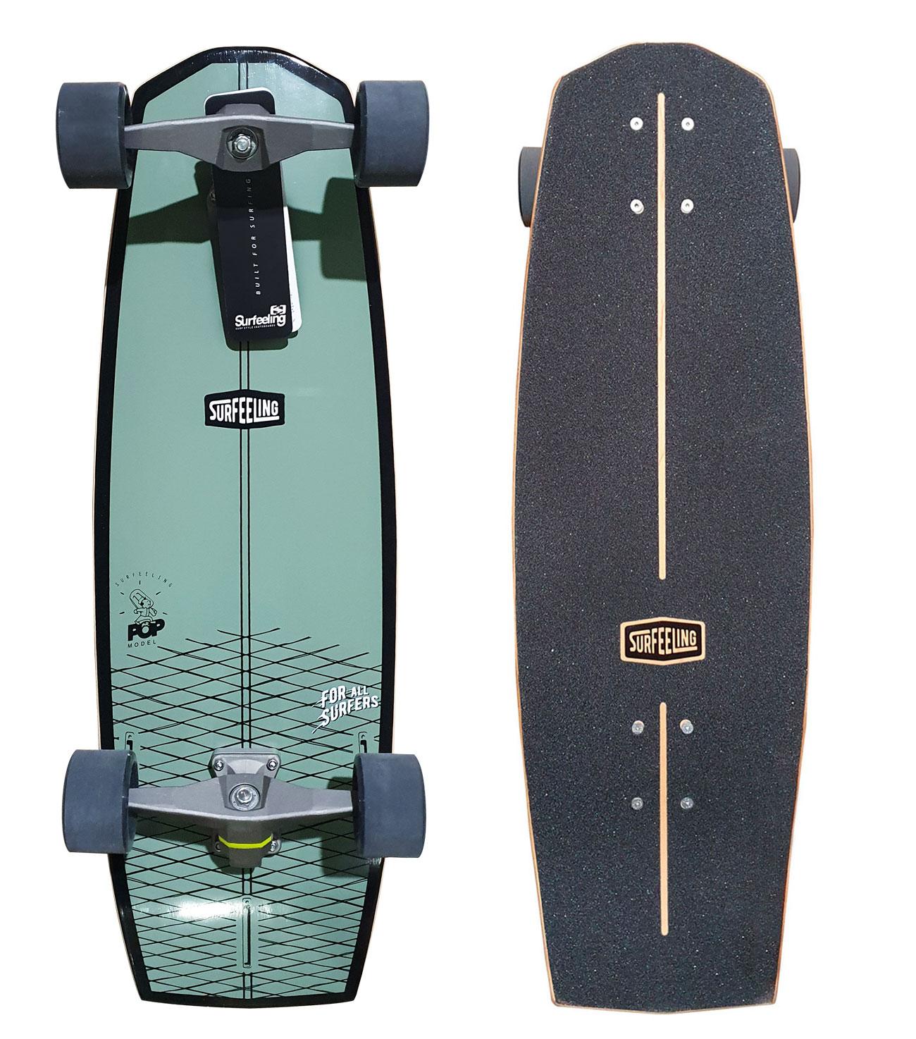 Simulador De Surf Skateboard Surfeeling Mr. Pop New