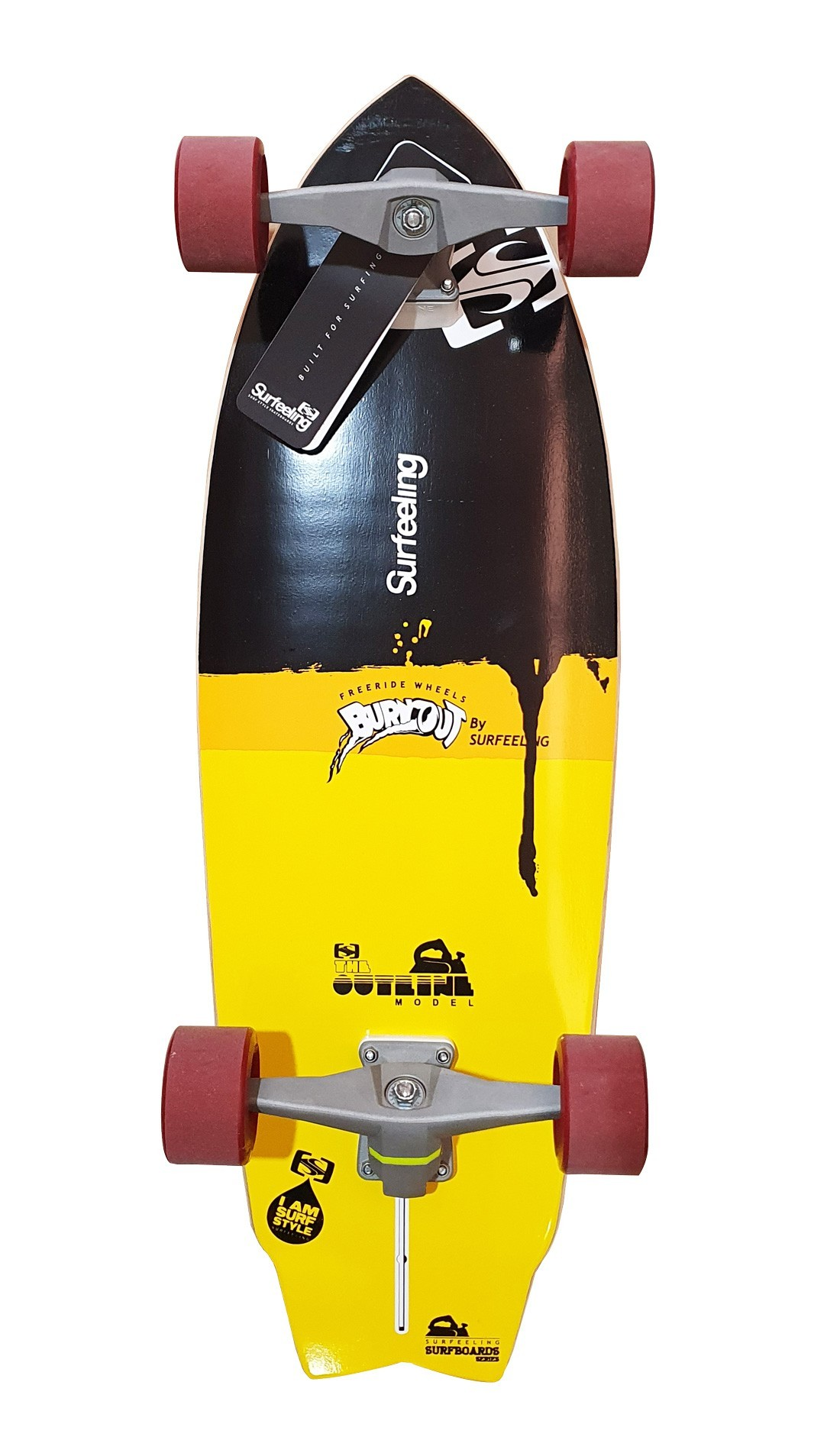 Simulador de Surf Skateboard Surfeeling OUTLINE NEW