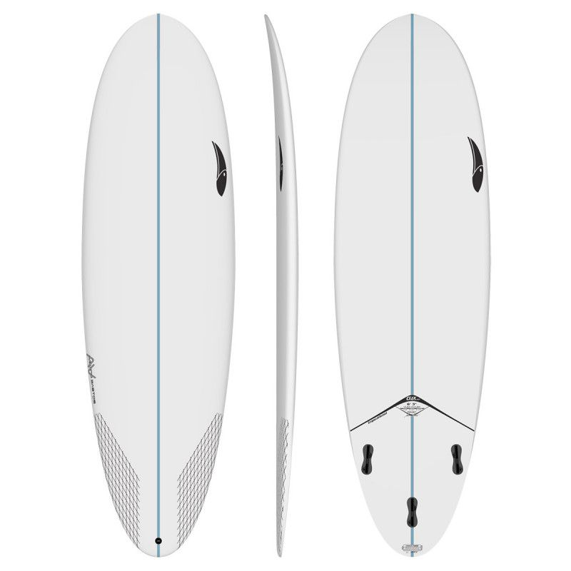 Mini Fun Board Tropical Brasil Vum-Ovum 6'5'' x 22'' x 3''  48,8Litros