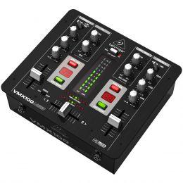 VMX100USB - Mixer DJ 2 Canais VMX 100 USB - Behringer