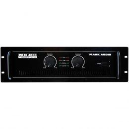 MK4800 - Amplificador Estéreo 2 Canais 800W MK 4800 - Mark Audio