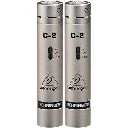 C2 - Microfone c/ Fio p/ Est�dio e Vocal C 2 ( Par ) - Behringer