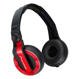 HDJ500 - Fone de Ouvido Over-ear Vermelho HDJ 500 - Pioneer