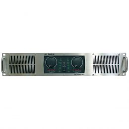 PP5002 - Amplificador Estéreo 2 Canais 5000W PP 5002 - Attack