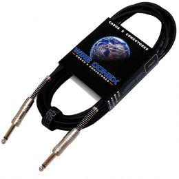 Cabo Emborrachado 5Mt P10 M / P10 M Mono - Wireconex