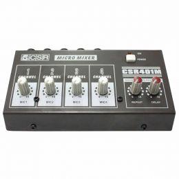 401M - Mesa de Som / Micro Mixer 4 canais 401 M - CSR