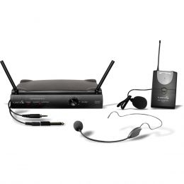 UH01HLI - Microfone s/ Fio Headset, Lapela e Instrumento UHF UH 01 HLI - Lyco