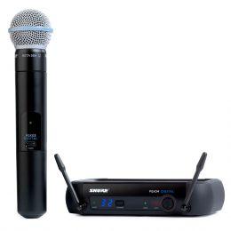 PGXD24BETA58 - Microfone s/ Fio de M�o UHF Digital PGXD 24 BETA 58 - Shure