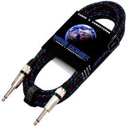 Cabo Textil 5Mt P10 M / P10 M Mono - Wireconex